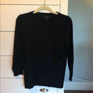 Medium J Crew Tippi sweater black